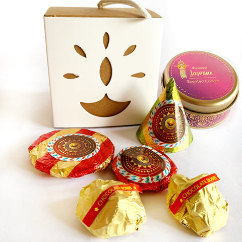 Candle & Fire Cracker Chocolate Box