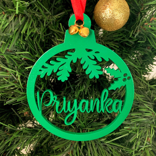 Personalised Christmas ornament - urbanhand