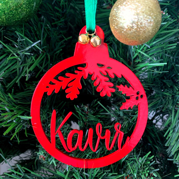 Personalised Christmas ornament - urbanhand - urban hand Christmas collection