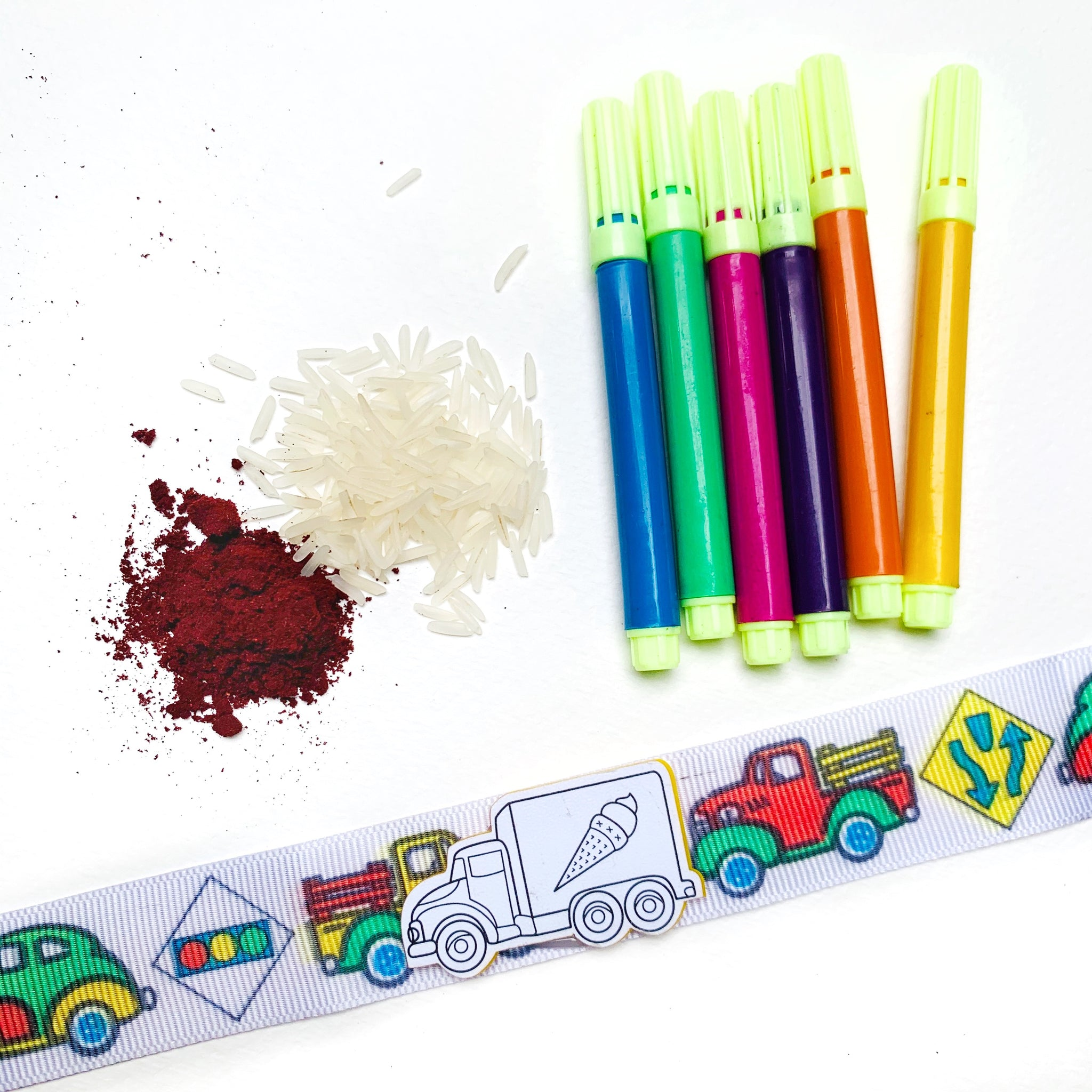Truck - Colour Your Own Rakhi