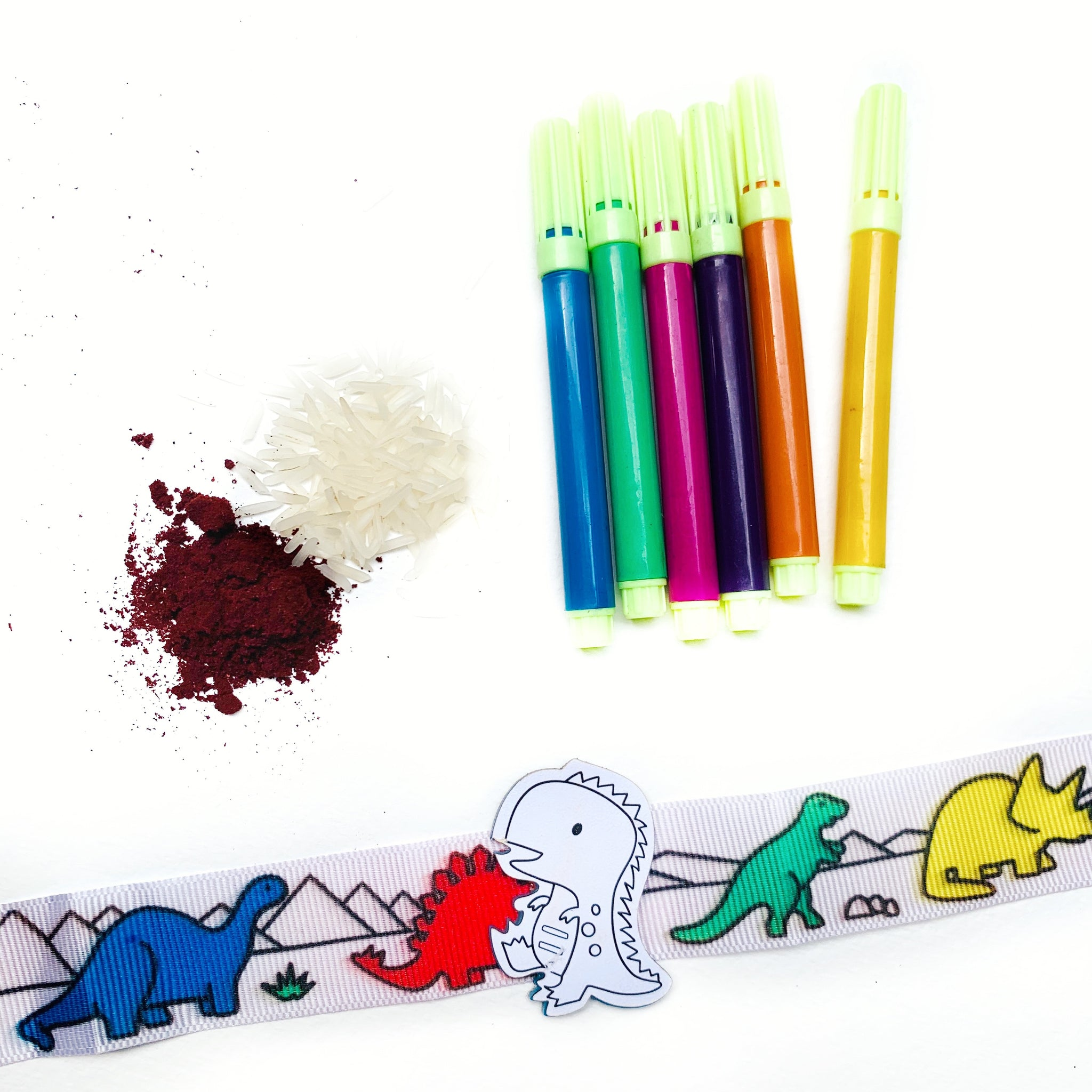 Dinosaur - Colour Your Own Rakhi