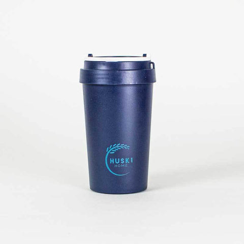 Rice Husk Travel Coffee Cup - Midnight