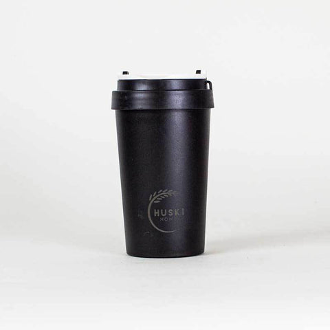 Rice Husk Travel Coffee Cup - Obsidian