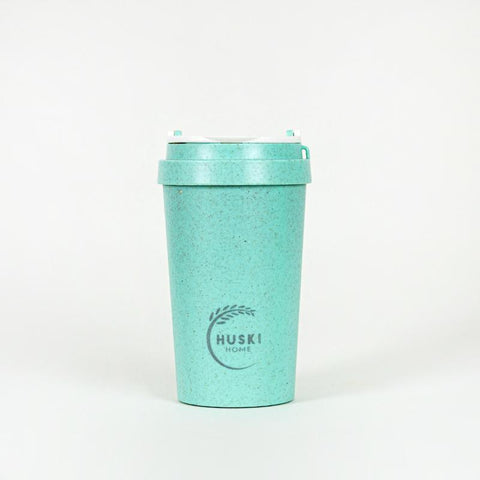 Rice Husk Travel Coffee Cup - Lagoon