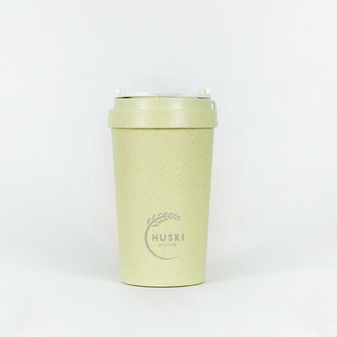 Rice Husk Travel Coffee Cup - Pistachio