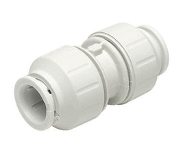 JG Speedfit Plastic Pushfit Coupling 22mm - Pack Of 5 ( PEM0415W )