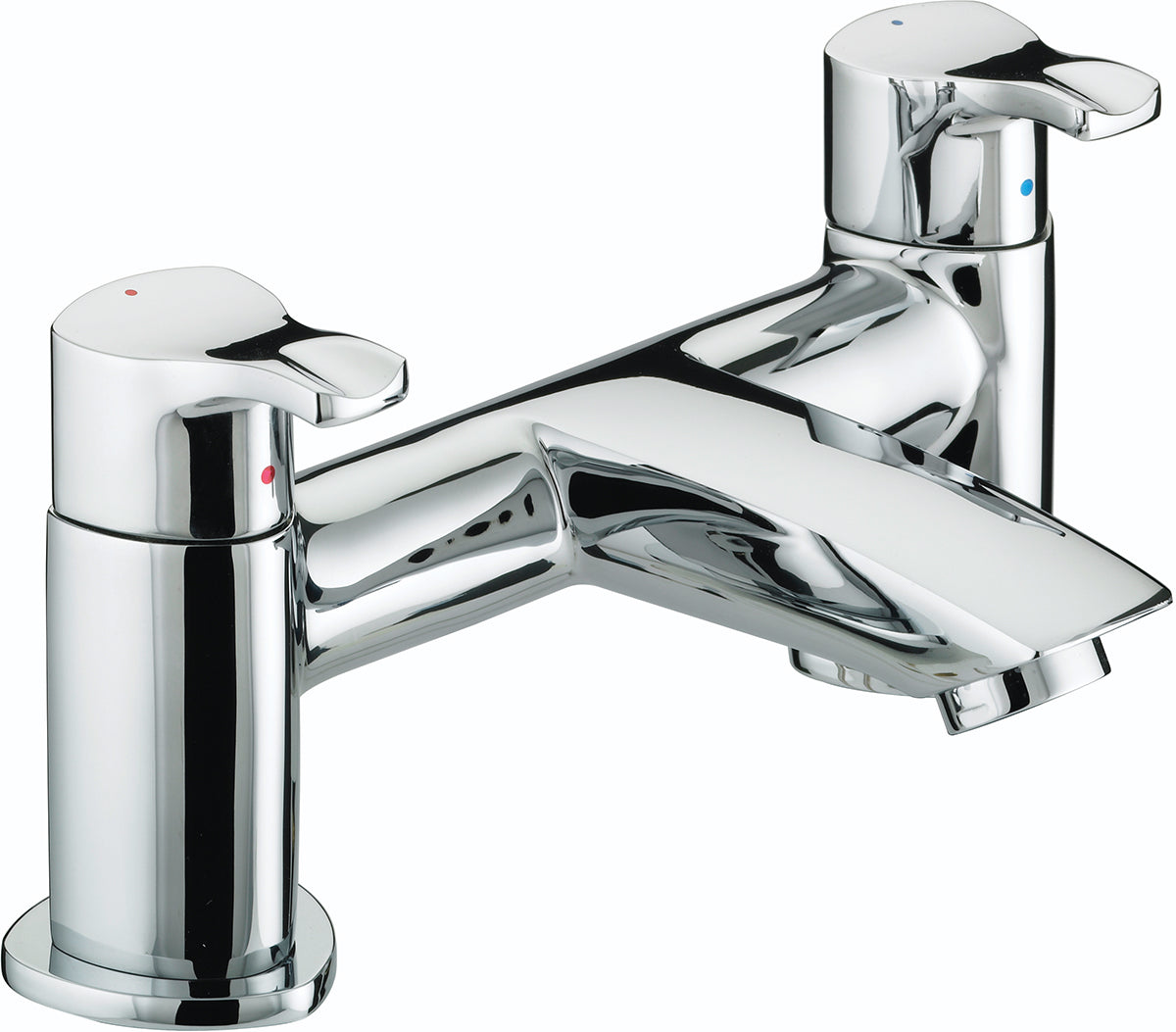 Bristan CAP BF C Capri Pillar Bath Filler - Chrome