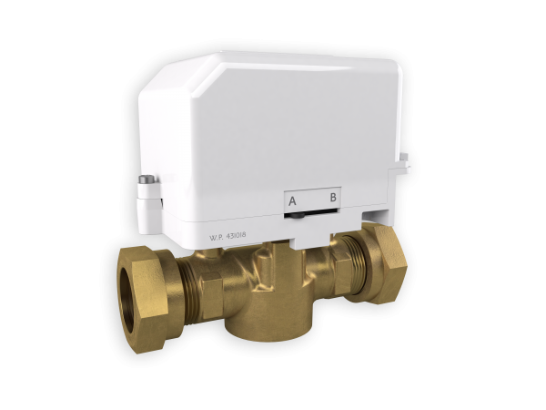Drayton 22mm Motorised 2 Port Zone Valve 27100