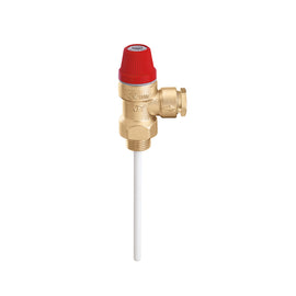 Caleffi Temperature and pressure relief valve 1/2″ 7 Bar 90°c 309470