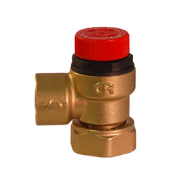 Caleffi 6 Bar Pressure Relief Valve 3/4″ Loose Nut to 1/2″ BSP 311501