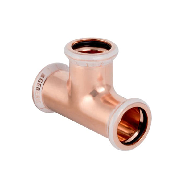 Geberit Mapress Copper Equal Tee 22mm for Water 61004