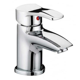 Bristan Capri Basin Mixer with Eco-Click & Pop-up Waste Chrome CAP EBAS C