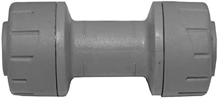 Polypipe Coupling Grey 15mm - Pack of 10 ( PB015 )
