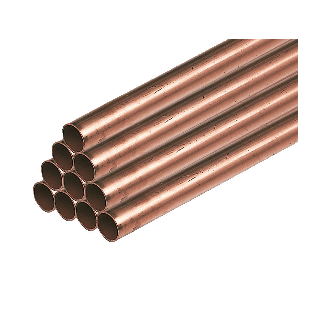 Copper Pipe 22mm x 3M (Pack Of 10)