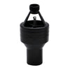 Hotun Hilfo Black Dry Trap Tundish 15mm x 32mm - HHB100C (BLACK)