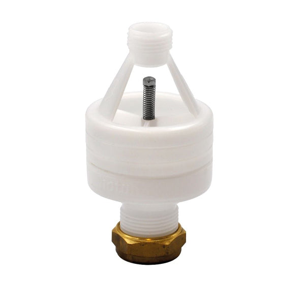 Hotun White Dry Trap Tundish 15mm x 22mm - HW100C (WHITE)