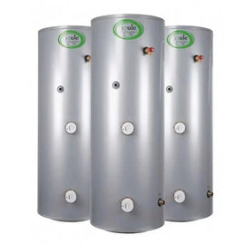 Joule Cyclone Standard Direct Unvented Cylinder, 125 Litre, Stainless Steel JDSMSTD125