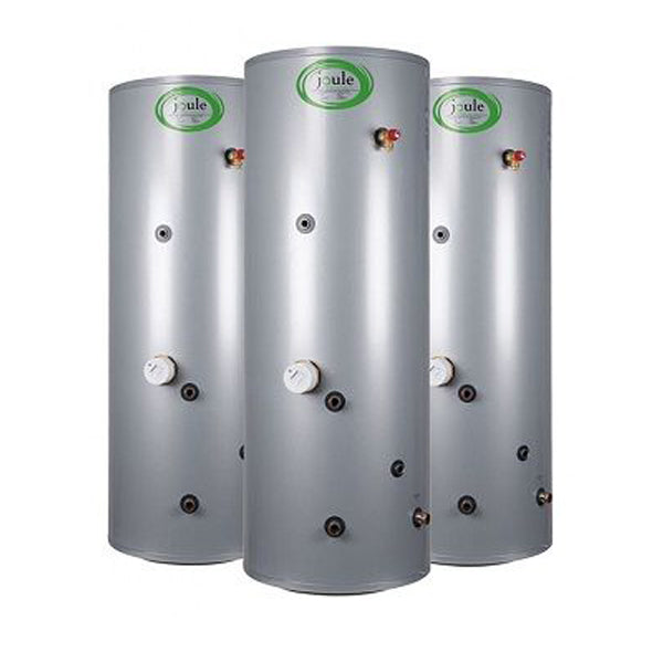Joule Cyclone Standard In-Direct Unvented Cylinder, 125 Litre, Stainless Steel JIDSTD125
