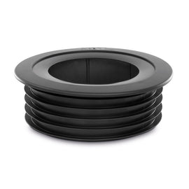 PipeSnug 110mm Cover For Soil Pipe Fittings Black K18470