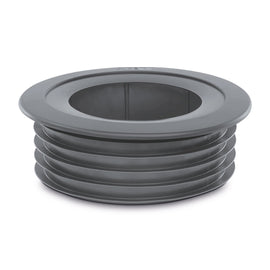PipeSnug 110mm Cover For Soil Pipe Fittings Grey K18471