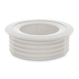 PipeSnug 110mm Cover For Soil Pipe Fittings White K18473