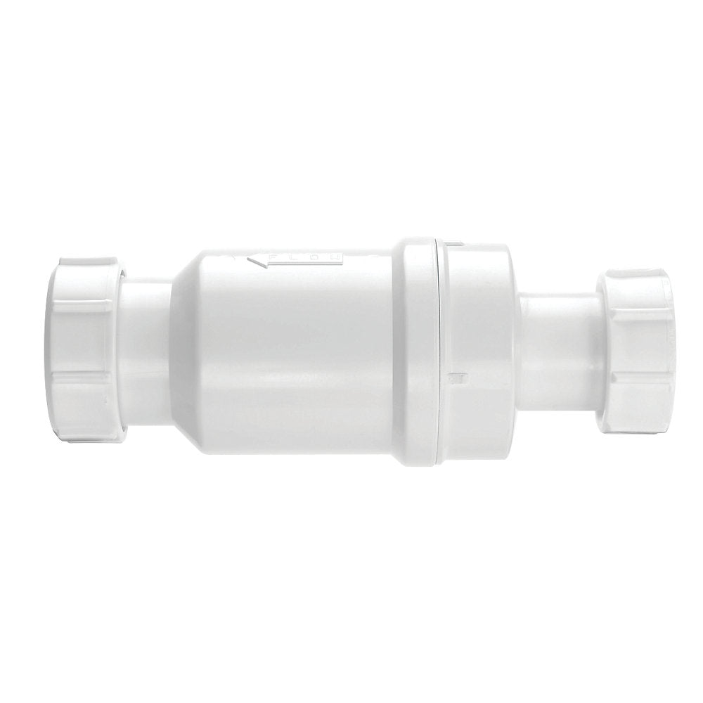 McAlpine MACVALVE-1 Self Closing Waste Valve White 32mm