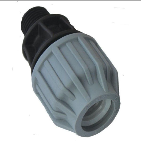 MDPE MB0702 Water Pipe Male Coupling 20MM x 3/4""