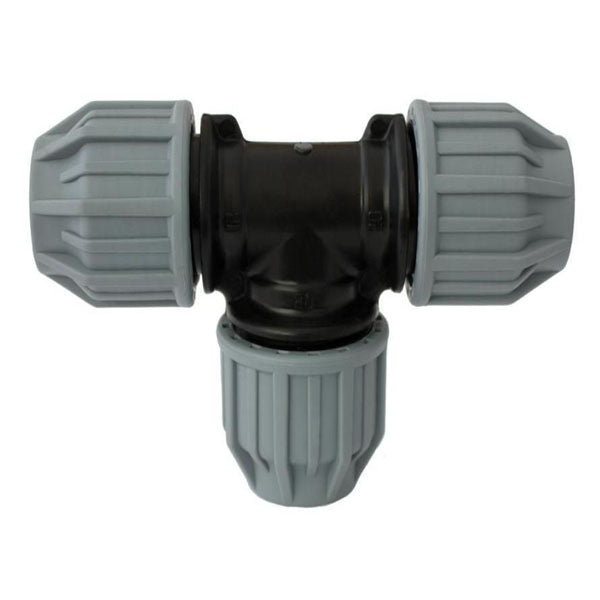MDPE Equal Tee Water Pipe 32mm x 32mm x 32mm MB1032
