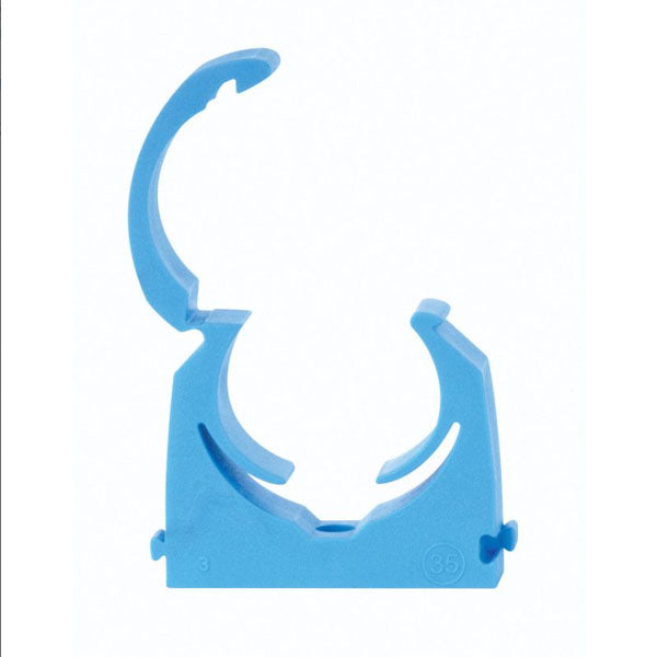 MDPE MBPC25 Water Pipe Talon Pipe Clip 25mm