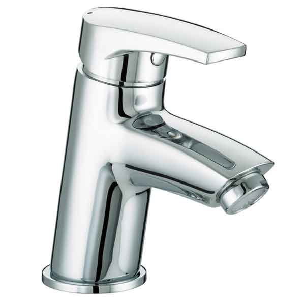 Bristan Orta Basin Mixer with Clicker Waste Chrome OR BAS C