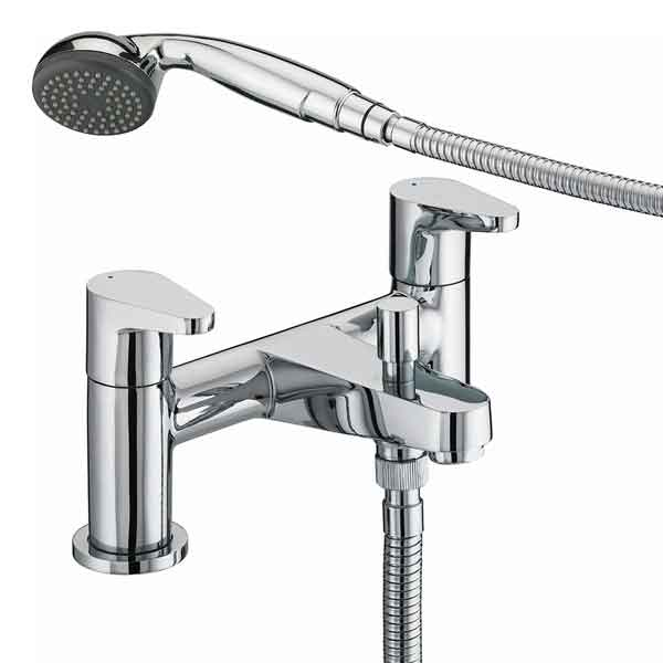 Bristan Quest Bath Shower Mixer Chrome QST BSM C
