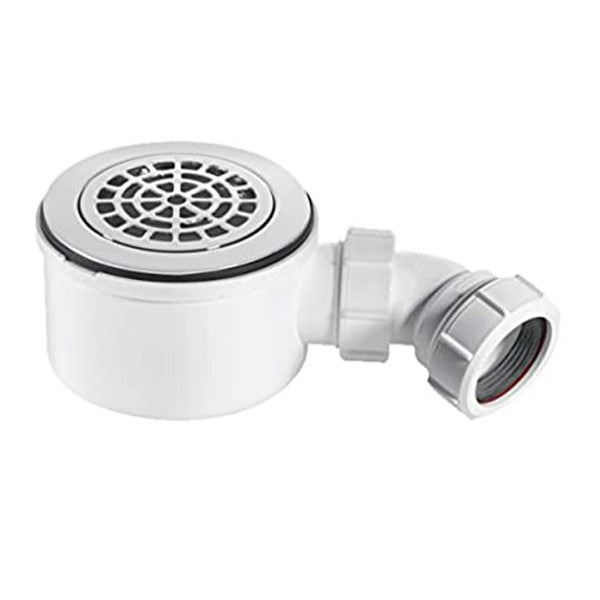 McAlpine ST90CPB-P-70 Shallow Shower Trap 90mm Petal