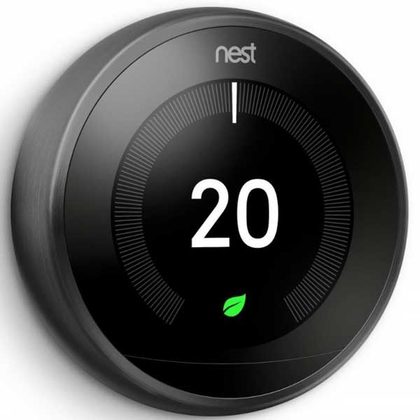 Nest Learning Thermostat 3rd Generation Black T3029EX