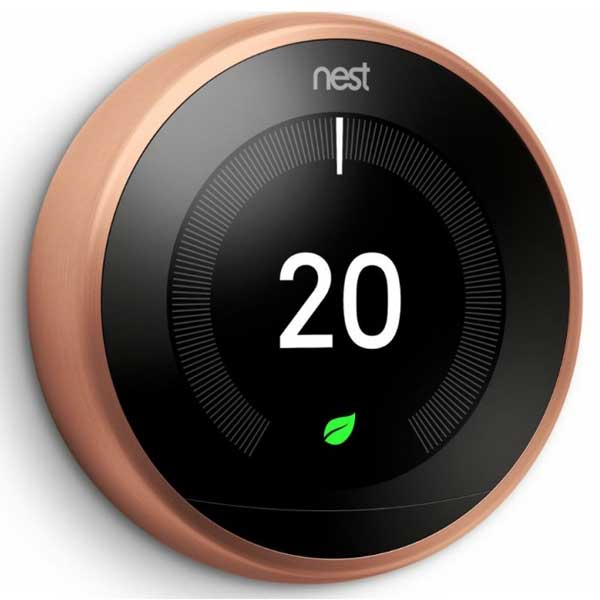 Nest Learning Thermostat 3rd Generation Copper T3031EX