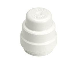 JG Speedfit Plastic Pushfit End Cap 15mm- Pack of 10 ( PSE4615W )