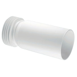 McAlpine WC-EXTA Straight Extension Piece WC Pan Connector White 110mm