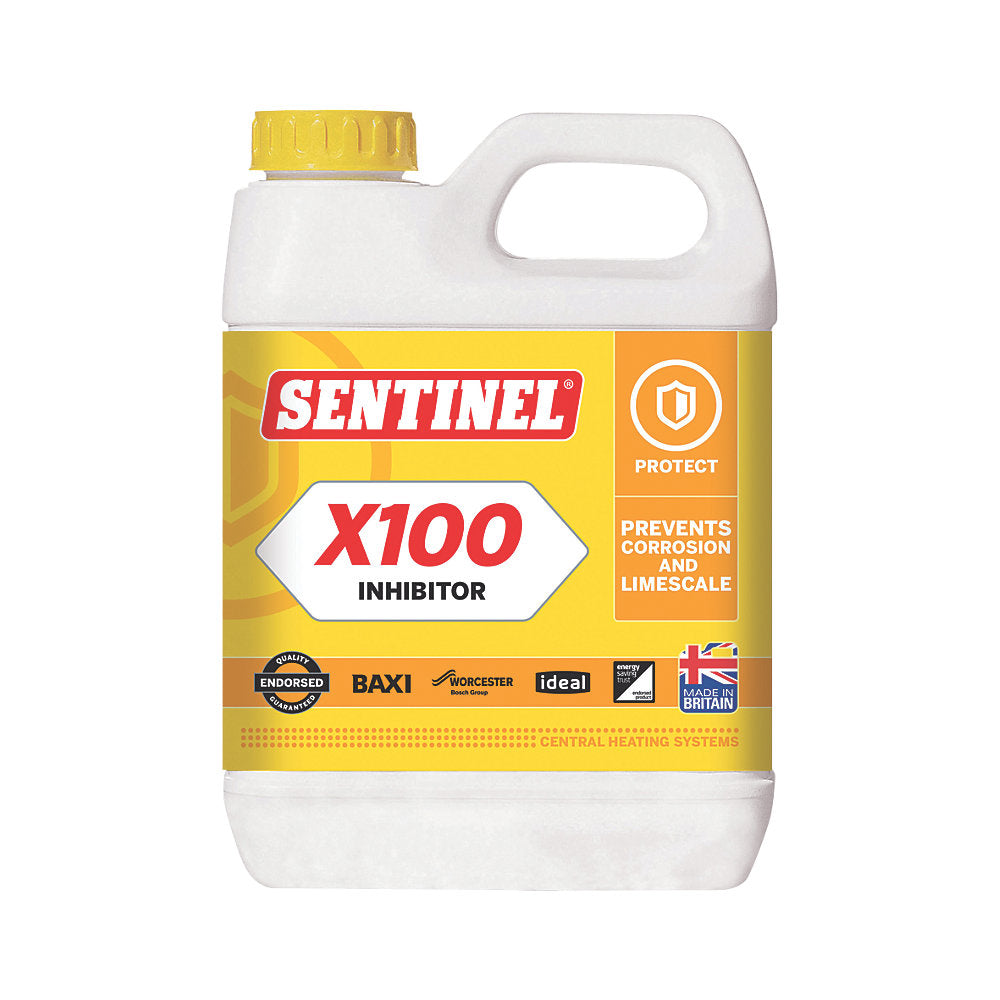 Sentinel Central Heating Scale INHIBITOR 1LTR X100