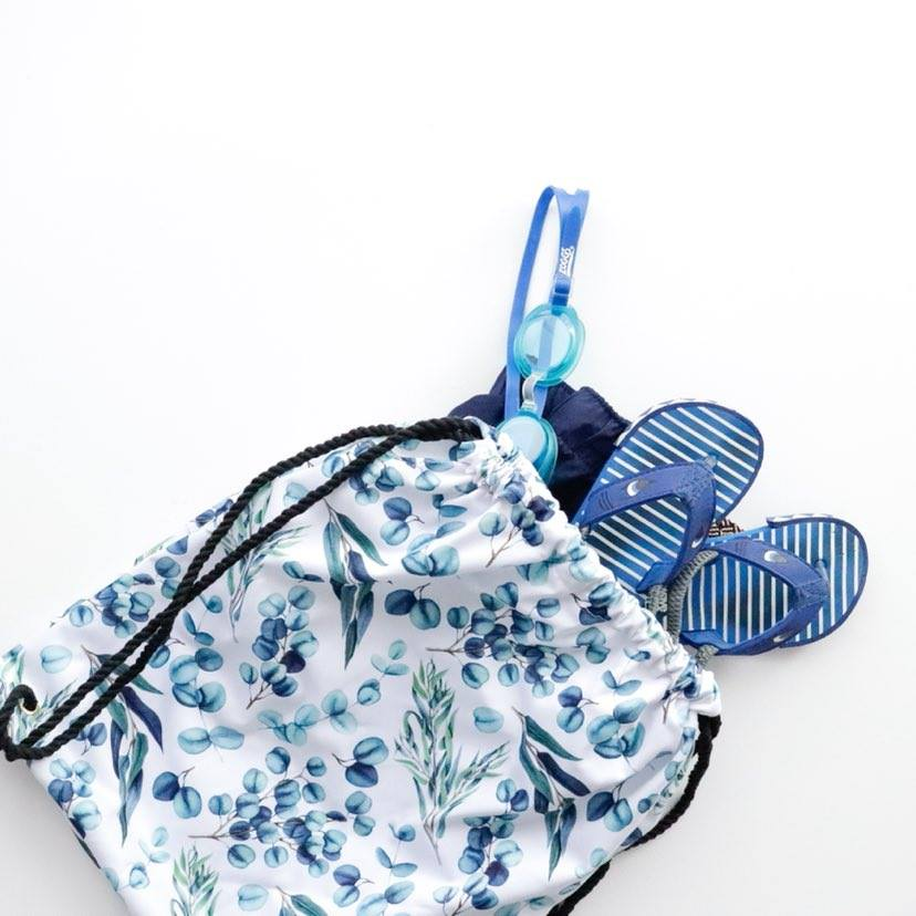 Swimming Bag | Eucalyptus Leaves
