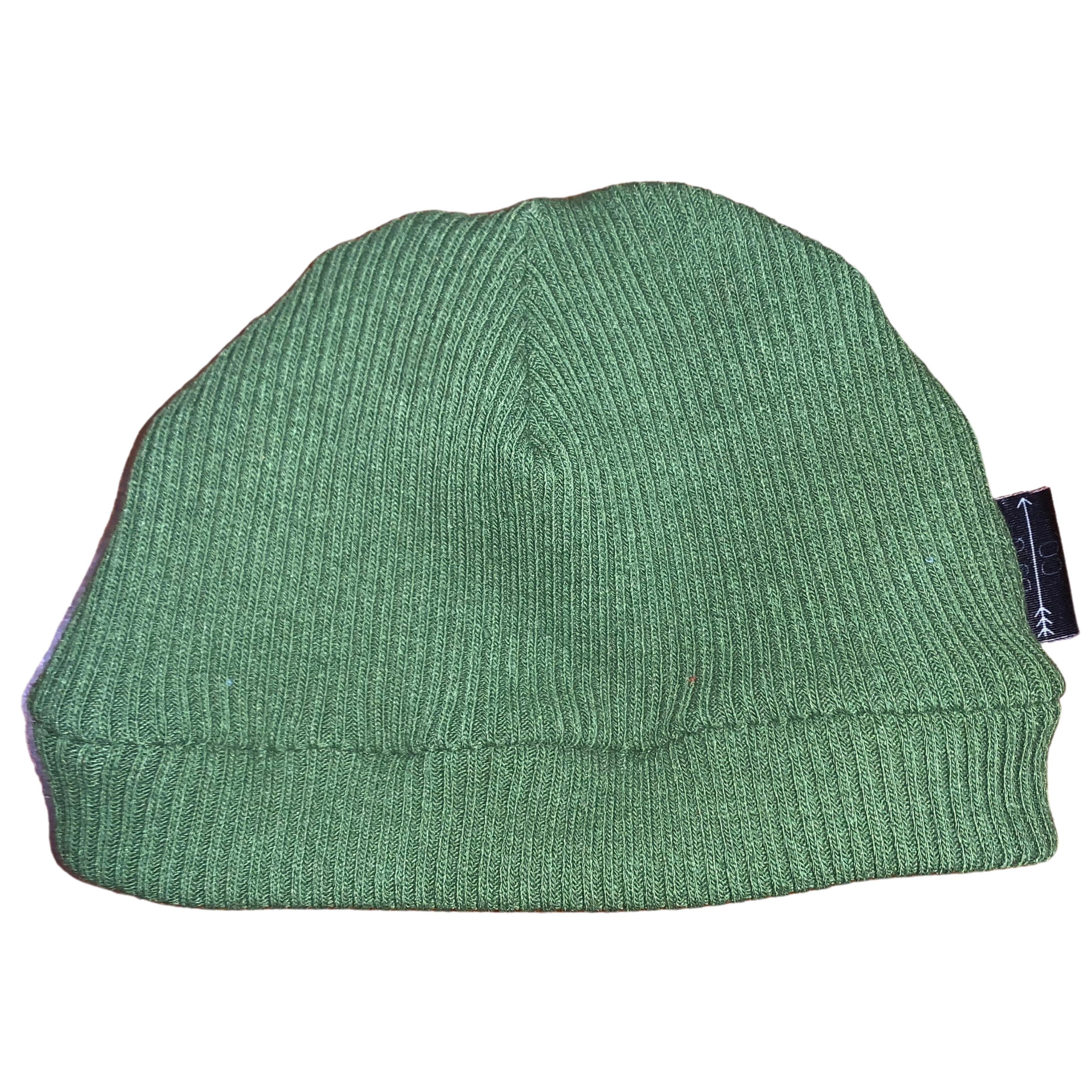 Ribbed Knit Beanie | Green