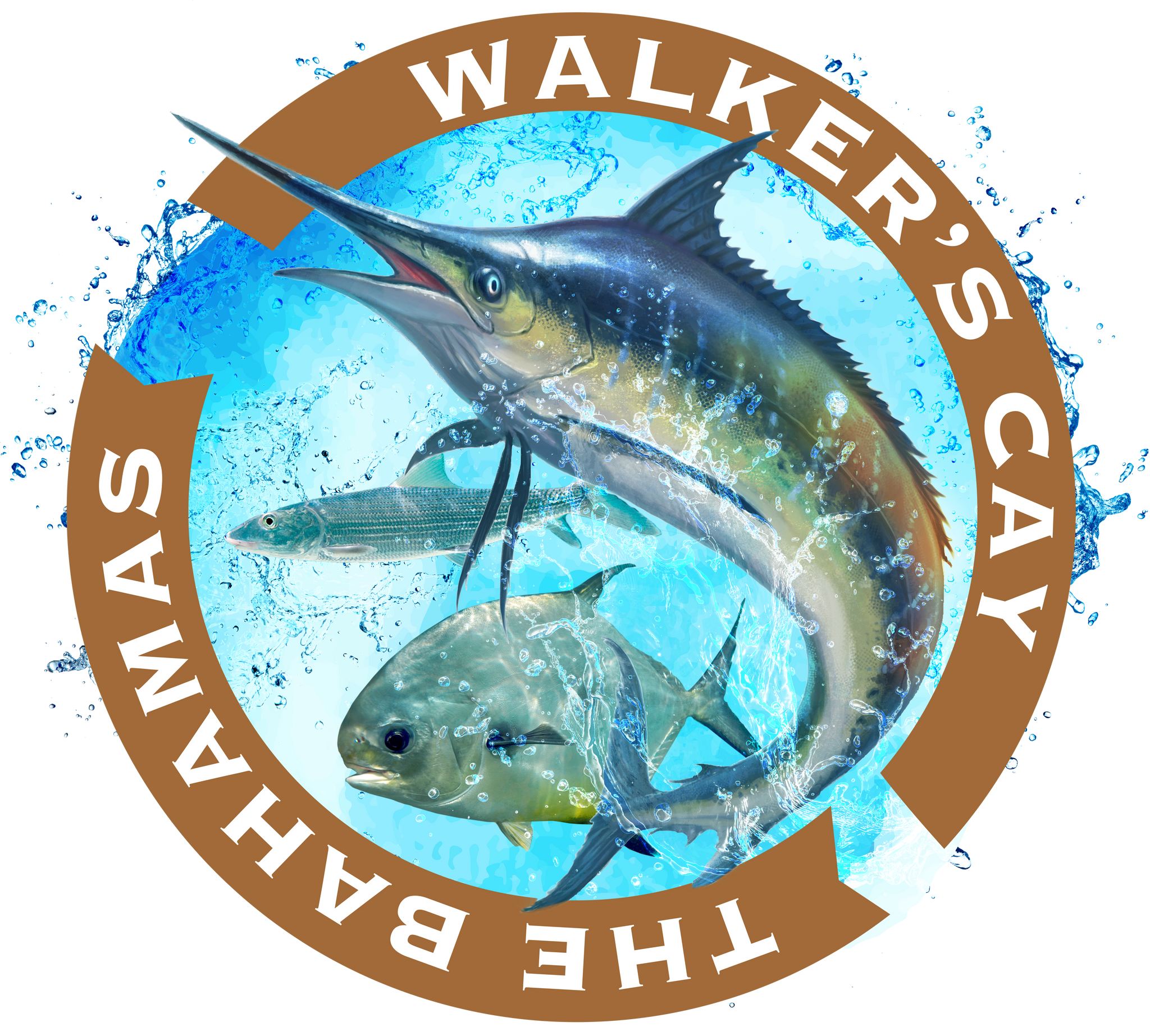 Walker's Cay Trifecta Decal