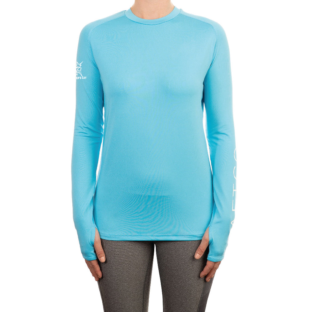 Women's AFTCO Samurai LS Sun Protection Shirt