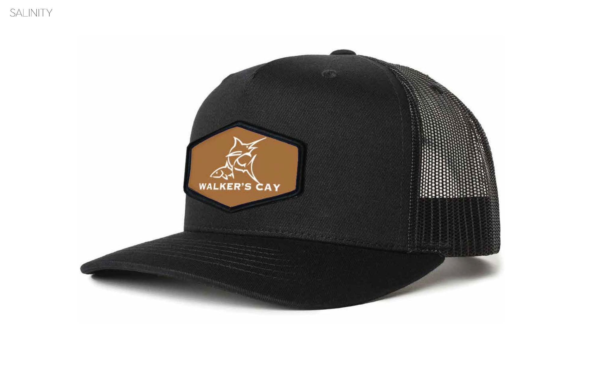 Walker's Cay Logo Patch Hat - (Richardson 112)