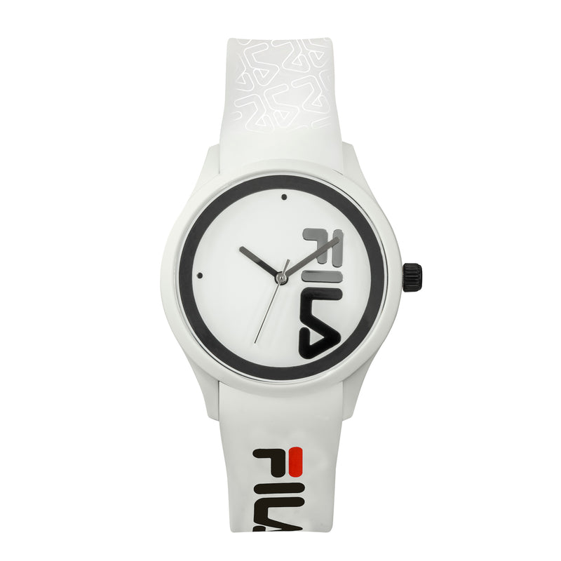Picture of FILA | 38-129-210 | Men and Women's White Analog Watch | Water Resistant