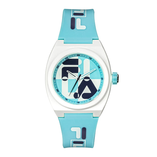 Picture of FILA | 38-180-105 | Men's and Women's Light Blue and White Analog Watch | Water Resistant