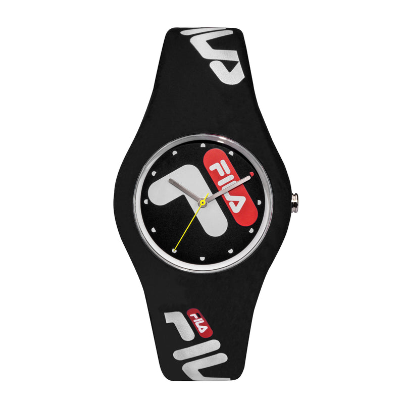 Picture of FILA | 38-185-001 | Men's and Women's Black Analog Watch | Water Resistant
