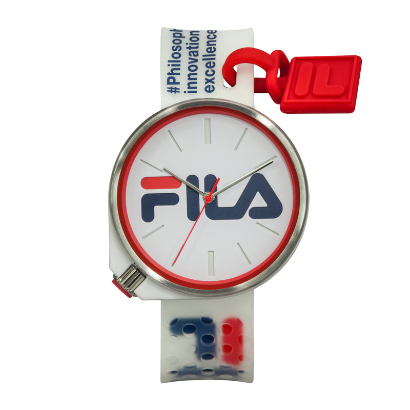 Picture of FILA | 38-199-004 | Men's and Women's White Analog Watch | Water Resistant