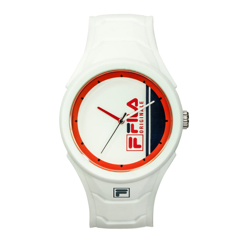 Picture of FILA | 38-311-002 | Men's and Women's White Analog Watch | Water Resistant