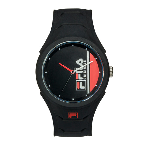 Picture of FILA | 38-311-003 | Men's and Women's Black Analog Watch | Water Resistant