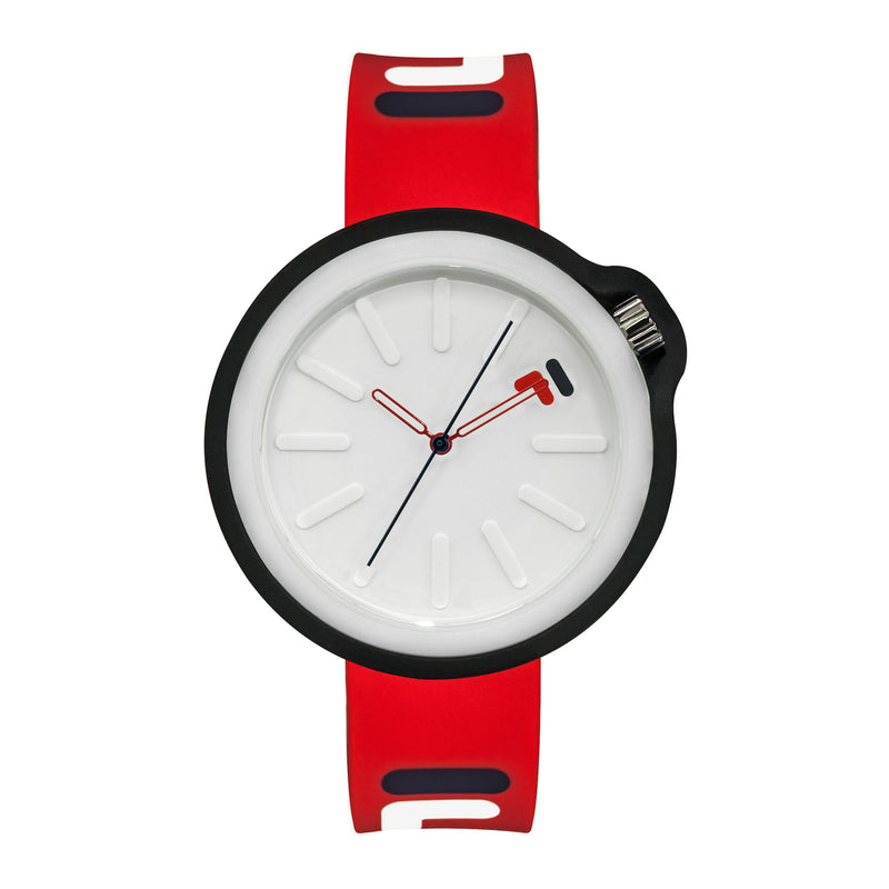 Picture of FILA | 38-315-005WHDB | Men's and Women's Red and Blue Analog Watch | Water Resistant | Interchangeable Case