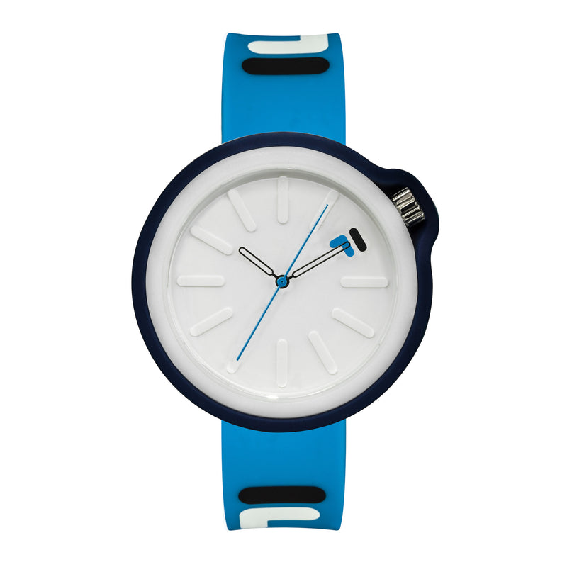 Picture of FILA | 38-315-007DBWH | Men's and Women's Blue Analog Watch | Water Resistant | Interchangeable Case